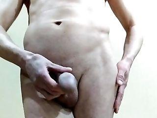 Amateur, Cum, Cumshot, Handjob, Homemade, Jerking, Russian, Sexy, Solo, Uncut,