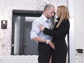 Blonde, Couple, Gorgeous, Hunk, Long Hair, Pornstar,