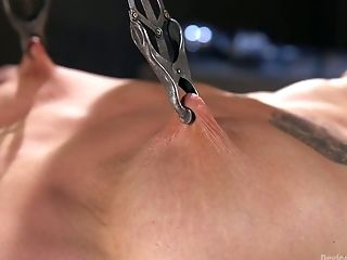 BDSM, Bondage, Brunette, Dildo, Kinky, Moaning, Nipples, Punishment, Sex Toys, Slut,