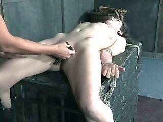 BDSM, Bold, Bondage, Boobless, Brunette, Dirty, Dungeon, Femdom, Force, Husband,