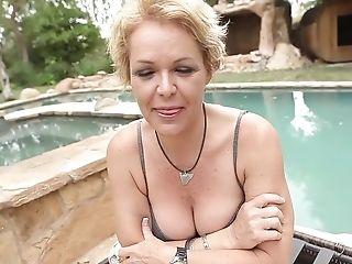Blonde, Cumshot, Exotic, Kelly Leigh, MILF, Pornstar,