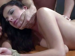 Ass, BDSM, Big Tits, Blindfold, Bondage, Brunette, Casting, Enema, Femdom, Fetish,