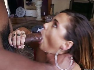 Ass, Babe, Big Ass, Big Black Cock, Blowjob, Brunette, Cumshot, Deepthroat, Facial, Gangbang,