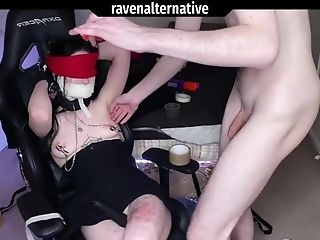 18, Amateur, Anal Creampie, Anal Sex, Ass, BDSM, Blindfold, Bondage, British, Clamp,