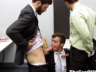 Ass Fucking, Group Sex, HD, Hunk, Mature, Muscular, Office,