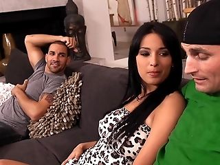 Anissa Kate, Babe, Beauty, Big Tits, Clothed Sex, College, Couch, Cute, Friend, Hardcore,