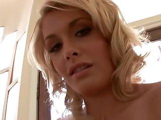 Blonde, Daphne Flor, Horny, Interracial, Star Du Porno, Shane Diesel,
