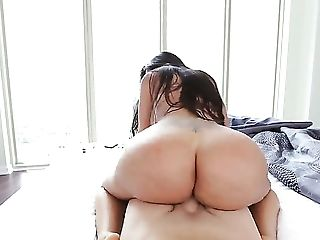 Ass, Big Ass, Big Cock, Blowjob, Brunette, Cum In Mouth, Cumshot, Deepthroat, Facial, Handjob,