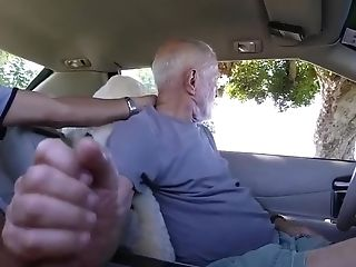 Amateur, Blowjob, Car, Daddies, Gorgeous, Grandpa, Outdoor,