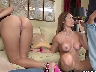 Big Ass, Blonde, Blowjob, Brunette, Dick, Facial, Handjob, Hardcore, HD, Kitana Flores,