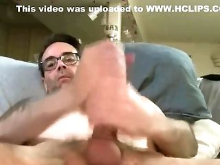 Big Cock, Cum, Double Fisting, Jerking, Solo,