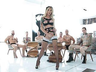 Pénétration Anale, Gros Pénis, Sexe De Groupe, Hardcore , Transexuelle ,