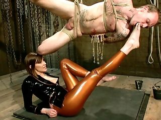 Ass Licking, Brunette, Feet, Latex, Maitresse Madeline, MILF, Mistress, White,