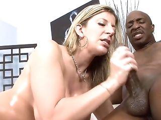 Dicker Arsch, Großer Schwanz, Große Titten, Blond, Cumshot, Pornostar, Sara Jay,