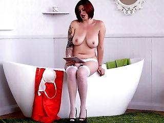 Beauty, Big Tits, Curvy, Cute, Horny, Jerking, MILF, Nude, Redhead, Slut,