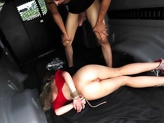 American, Babe, BDSM, Bondage, Car, Domination, From Behind, Gagging, Hardcore, Helpless,