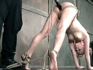BDSM, Blonde, Bold, Bondage, Boobless, Clit, Cute, Dildo, Flexible, Kinky,