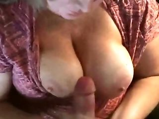 Bbw, Große Titten, Blond, Sperma, Cumshot, Handjob,