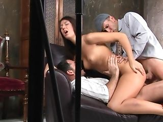 Anal Sex, Babe, Backstage, Blowjob, Brunette, Dick, Double Penetration, Solo, Threesome,