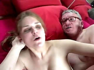 Amateur, Blowjob, Bold, Brunette, Caucasian, Couple, Cum Swapping, Cumshot, HD, High Heels,