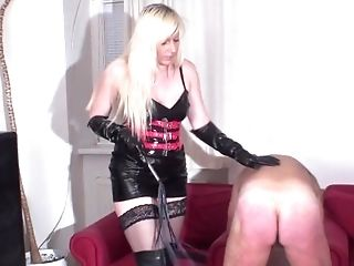 BDSM, Blonde, Bondage, Femdom, Fetish, Force, German, Mistress, Old, Rough,