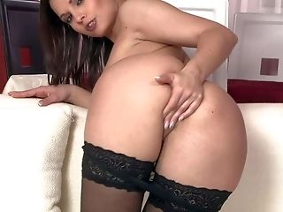 Ass, Big Tits, Brunette, Cute, Eve Angel, Fingering, HD, Masturbation, Mature, Pornstar,