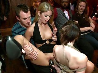 BDSM, Bondage, Brunette, Brutal, Dildo, Emo, Extreme, From Behind, Gangbang, Hardcore,