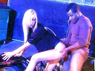 Bar, Big Black Cock, Black, Blonde, Blowjob, Brooke Banner, Dress, Gangbang, Hardcore, HD,