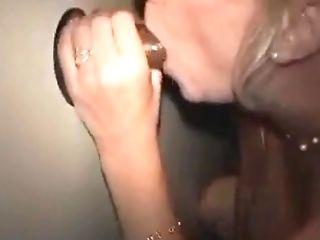Blonde, Blowjob, Glory Hole, Hardcore, Interracial, MILF, Pussy, Reality, Wife,