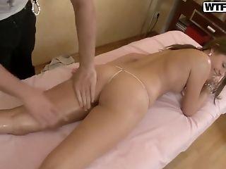 Blowjob, Brunette, College, Fucking, HD, Liza Shay, Massage, Russian, Teen,