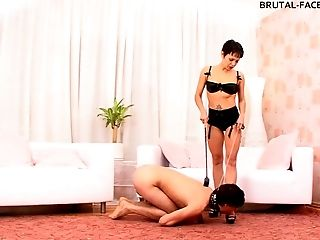BDSM, Facesitting, Femdom, Fetish, Short Haired, Submissive,