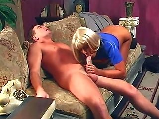 Ass, Babe, Big Tits, Blonde, Blowjob, Couch, Cute, Extreme, Gorgeous, Handjob,