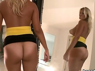 Ass, Big Ass, Big Tits, Blonde, Blowjob, Bold, HD, Juicy, Kitana Flores, Latina,