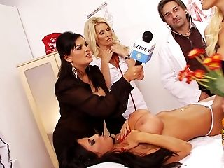 Group Sex, Hardcore, Nurse, Orgy, Pornstar, Reality, Wild,