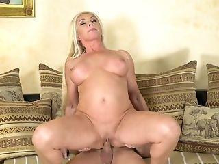 Ass, Big Tits, Blonde, Blowjob, Boots, Cowgirl, Cumshot, Cute, Facial, Friend,