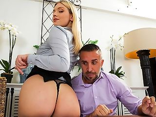 American, Ass, Babe, Big Ass, Big Tits, Blonde, Cute, Gorgeous, Natural Tits, Office,