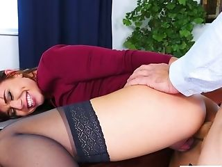 Ass, Beauty, Blowjob, Cute, Deepthroat, Dirty Talk, Horny, Office, Redhead, Slut,