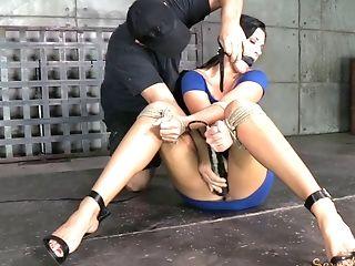 Bdsm, Bondage, Bruna, Cazzo, Grasso, Felching, Fetish, Sottomesso,