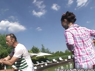 Anal Sex, Big Tits, Creampie, Cunnilingus, Pornstar, Rocco Siffredi, Sharon Lee, Son, Threesome,